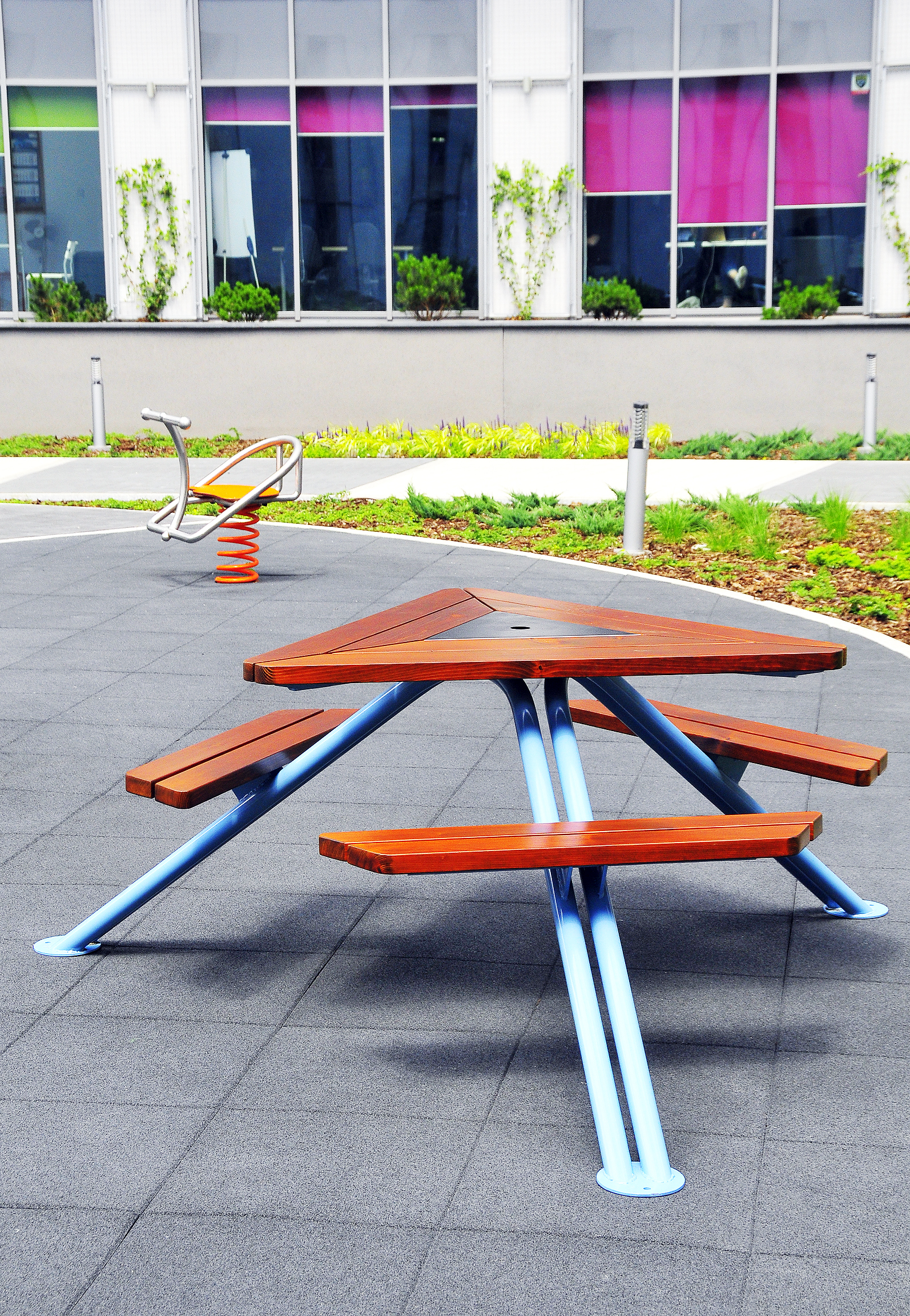 picnic office design. Picnic Table At The Office Building Design T